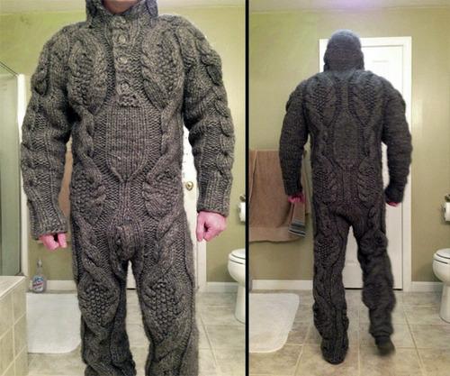 full body sweater armor